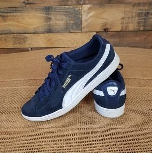 Puma Vicky Suede Sneakers